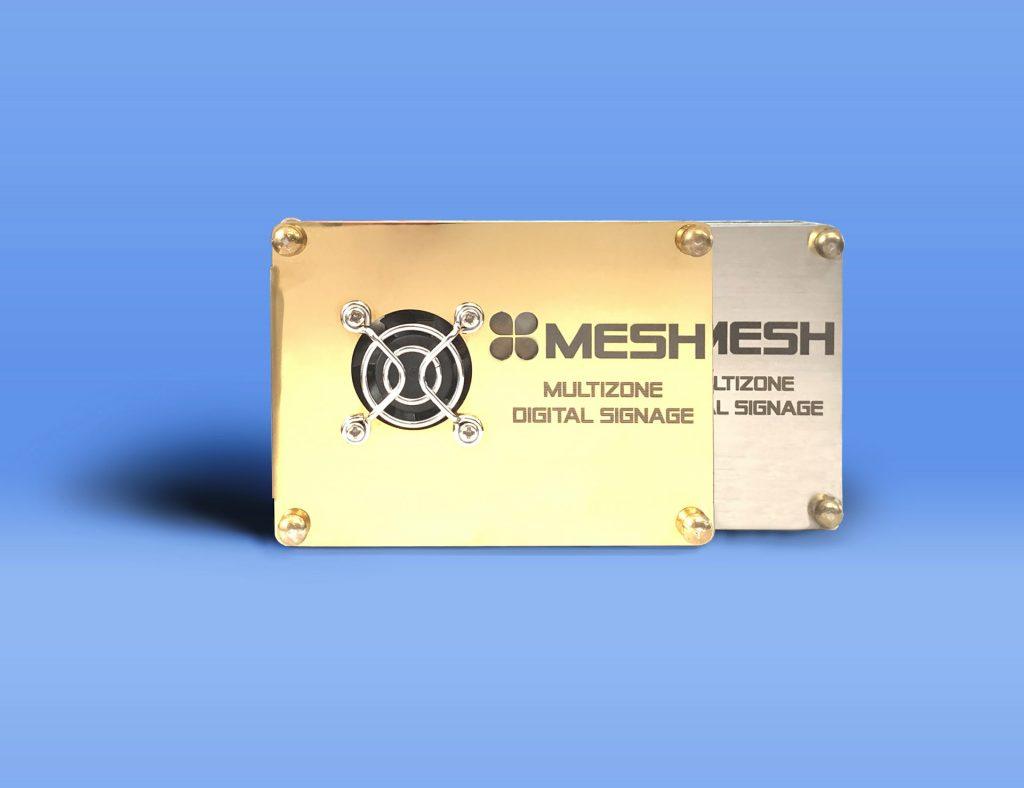 Mesh multizone digital signage - Media player