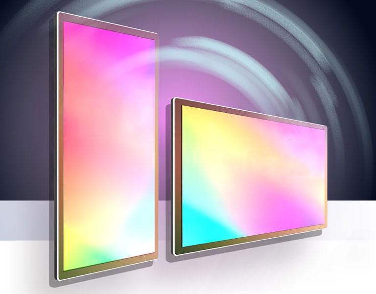 Màn hình quảng cáo LCD 32'' YFC Mesh