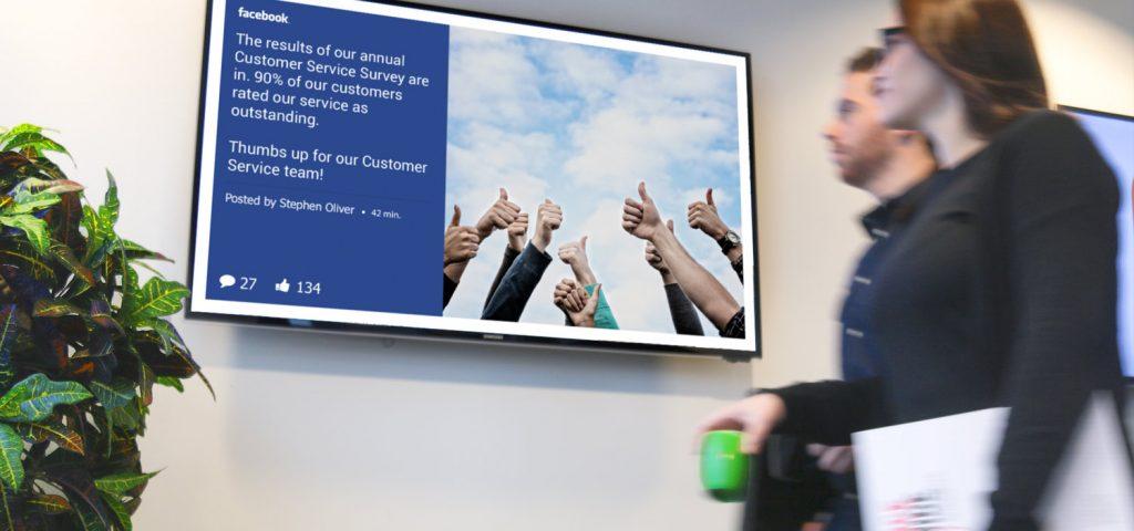 màn hình quảng cáo lcd 32 inch mesh